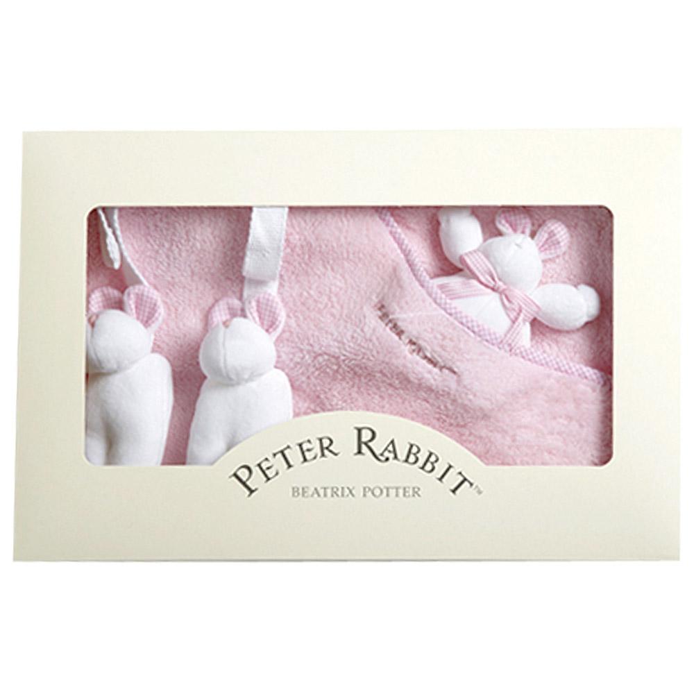 比得兔幼兒小蓋毯-粉紅