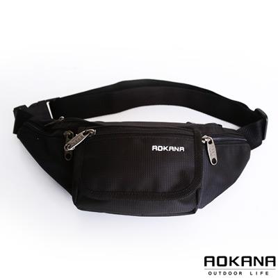 AOKANA-台灣製造-YKK拉鍊腰包03-002