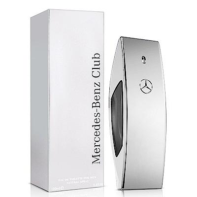 Mercedes Benz 賓士銀色風潮男性淡香水100ml