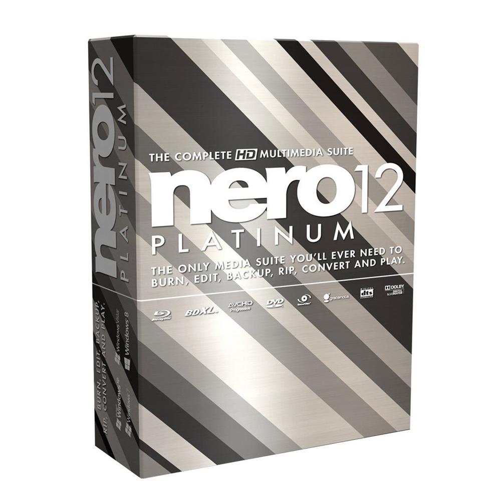 Nero12 Platinum 盒裝版
