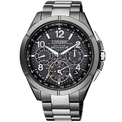 星辰 CITIZEN GPS衛星鈦金計時腕錶(CC9075-52E)