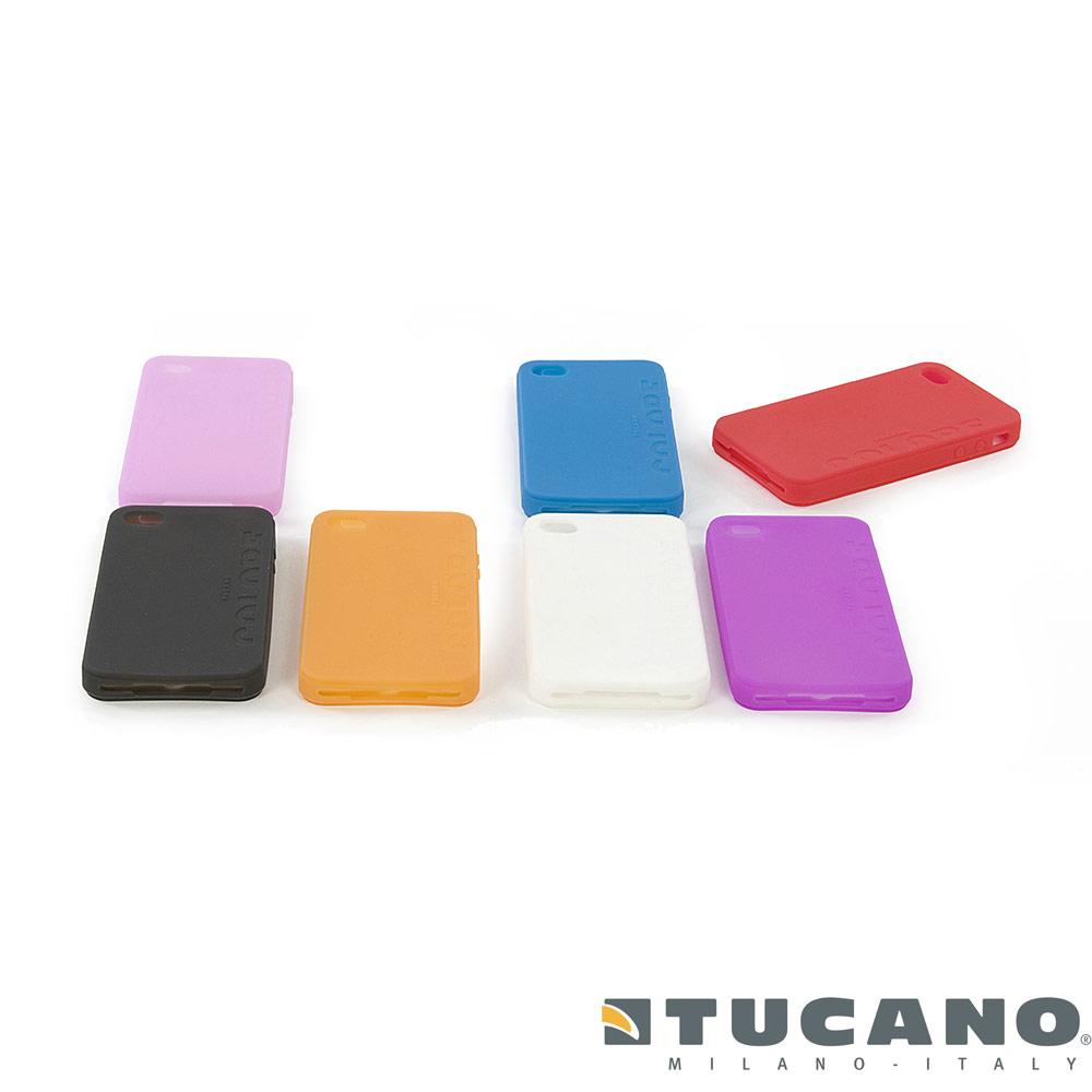 TUCANO COLORE 繽紛系列 Apple iPhone 4 專用矽膠套
