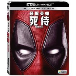 惡棍英雄:死侍 UHD+BD(雙碟限定版) 藍光 BD