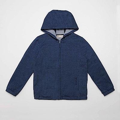 PIPPY 彈性布料舒適外套 丈青