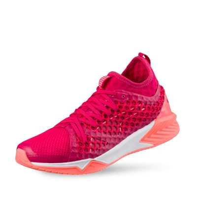 PUMA-IGNITE XT NETFIT Wn-s女性有氧運動鞋-明瑰紅