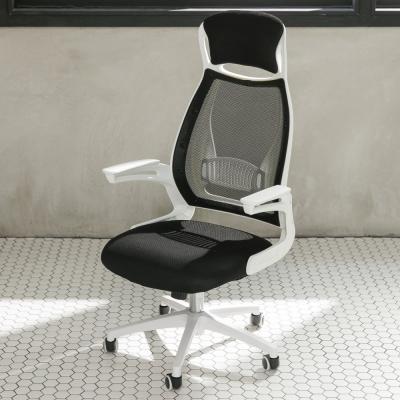 IDEA-亞斯加大頭頸枕舒適高背電腦椅-PU靜音滑輪