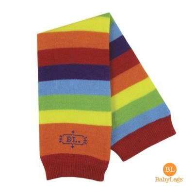 美國 BabyLegs 有機棉嬰幼兒襪套 (小小彩虹)
