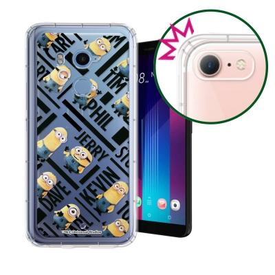 正版小小兵 HTC U11+ / U11 Plus 空壓安全手機殼(黑字)