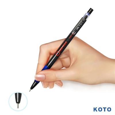 KOTO黑金剛 0.7mm油性自動原子筆-2盒/100支(藍)NO.101