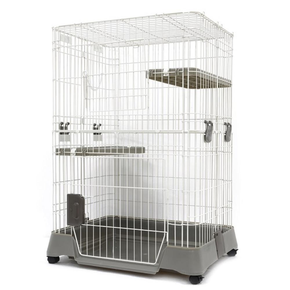Marukan 舒適耐用雙層寵愛 貓籠/貓屋 CT-324