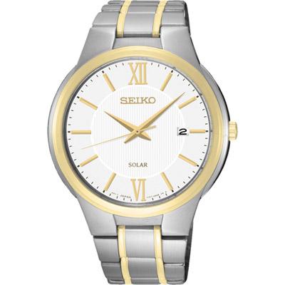 SEIKO-CS系列太陽能都會腕錶-SNE388P
