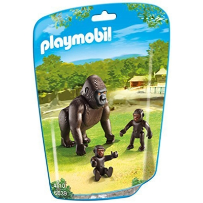 playmobil-可愛大猩猩一家