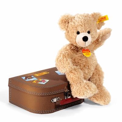 STEIFF德國金耳釦泰迪熊 - Fynn Teddy Bear (行李箱熊)