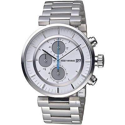 ISSEY MIYAKE三宅一生W系列強勁計時腕錶(VK67-0010S)