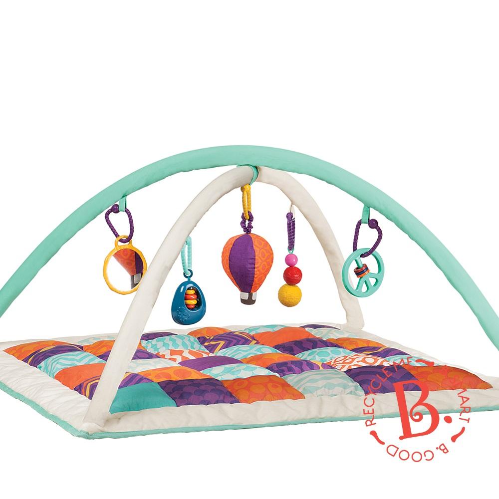 美國【B.Toys】熱氣球健力墊