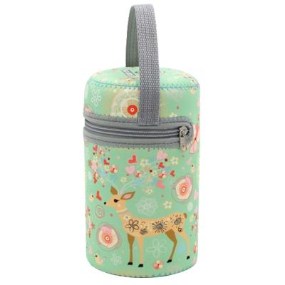 【兩件入】寶寶副食品手提保溫罐套 (共四款)