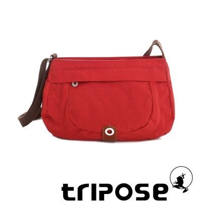 tripose 微旅系列淑女側肩包 番茄紅