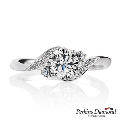 PERKINS 伯金仕 - GIA Queen系列 0.50克拉鑽石戒指