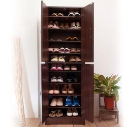澄境 經典十層雙門收納大容量鞋櫃51X31X154cm-DIY