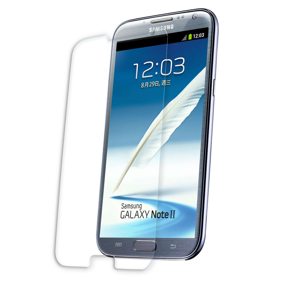 aibo Samsung Note2專用9H防爆鋼化玻璃保護貼