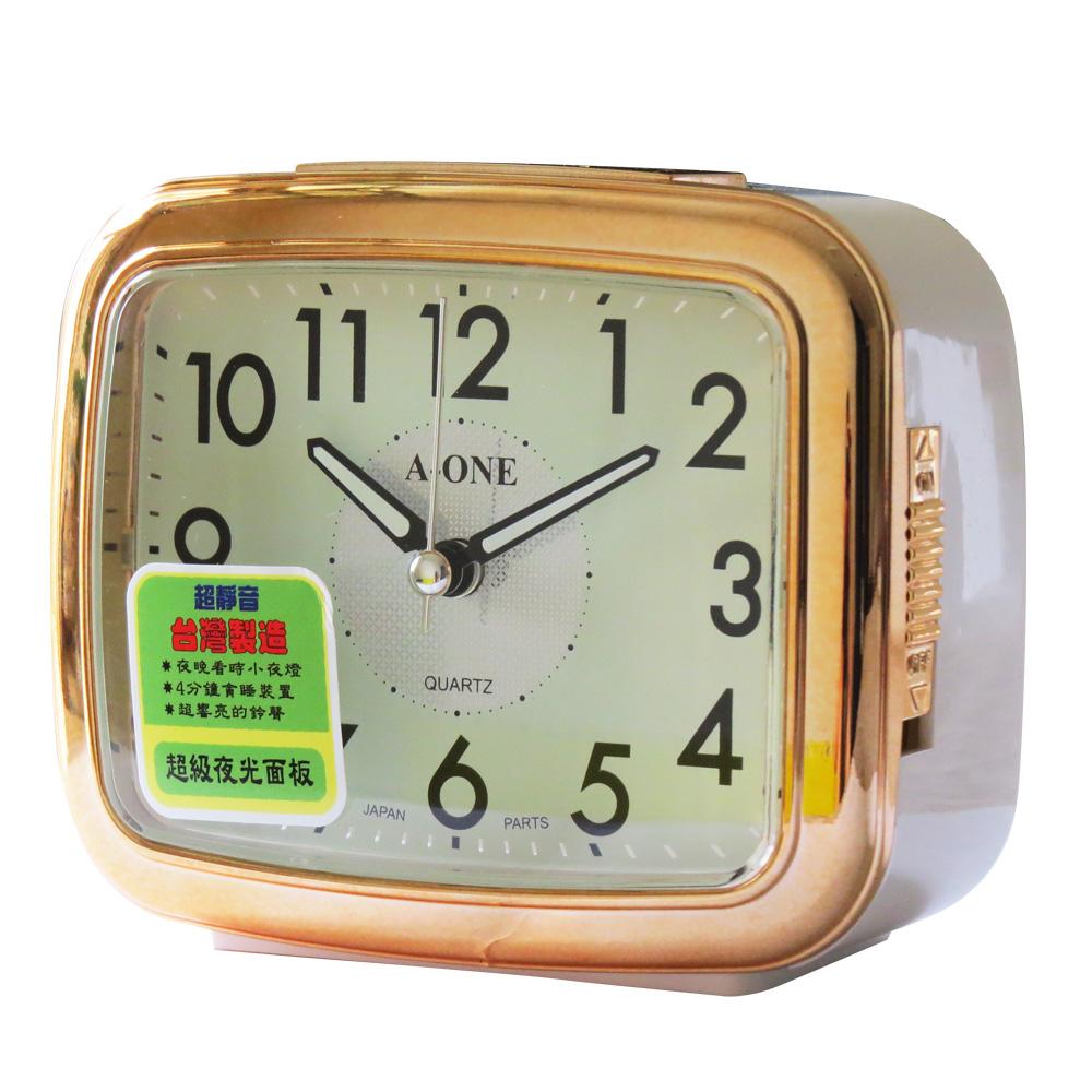 A-ONE 夜光面板亮面邊框大聲公鬧鐘(TG-697)
