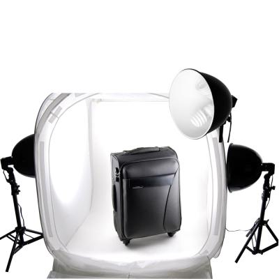 標準白光散熱二聯式多功能90CM攝影棚套組