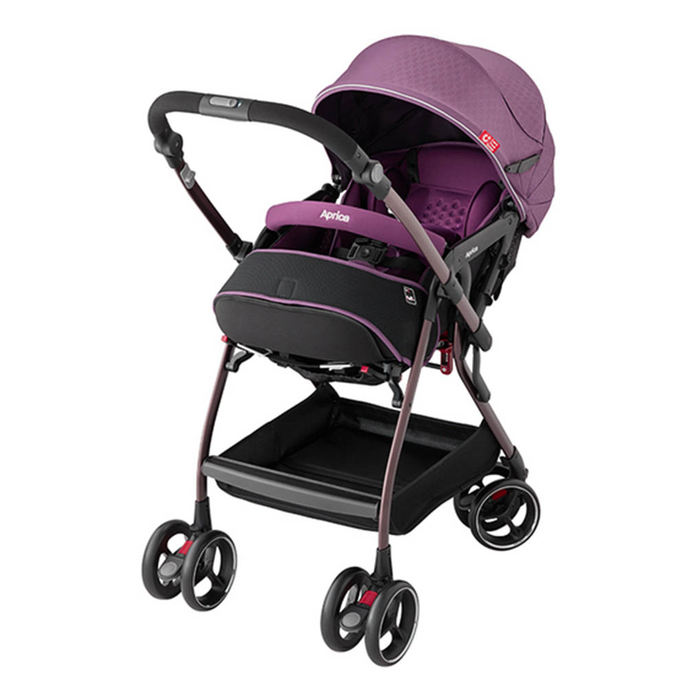 Aprica Optia Premium 新視野 四輪自動定位導向型嬰幼手推車(共2色) @ Y!購物