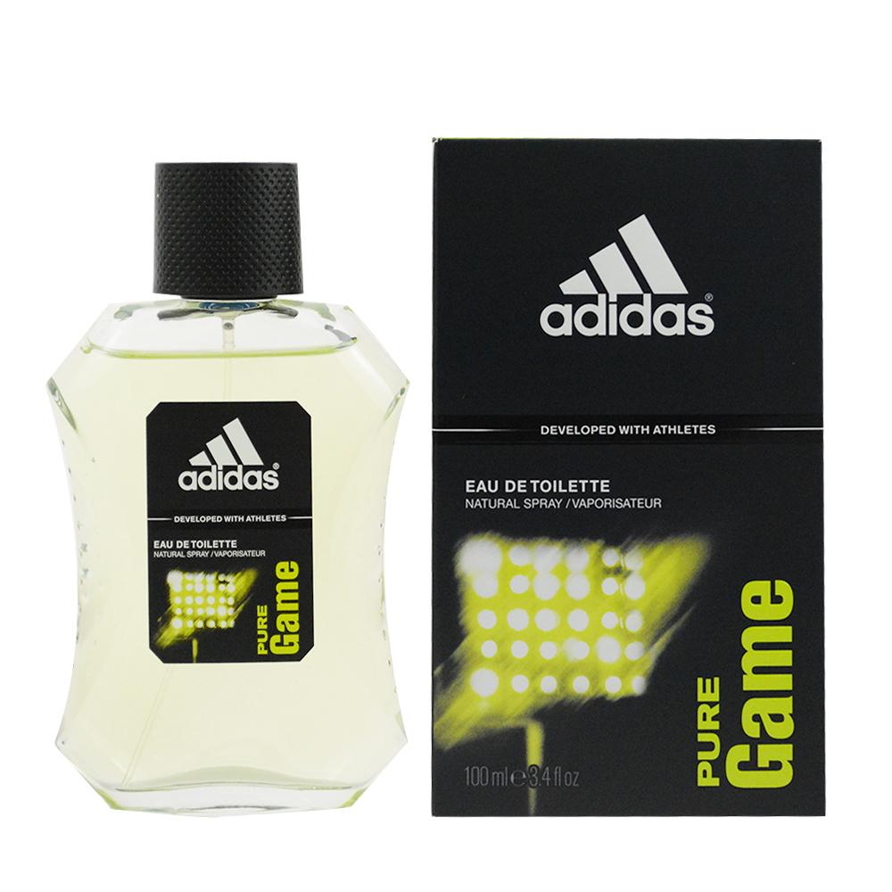 ADIDAS愛迪達 PURE GAME 極限挑戰 男性淡香水100ml