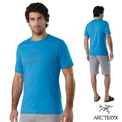 Arcteryx 始祖鳥 24系列 男 有機棉 短袖T恤 加厚款 藍