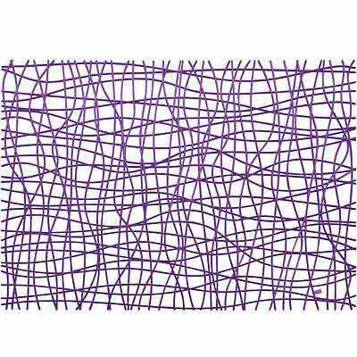 KOZIOL 網紋硬餐墊(透紫)