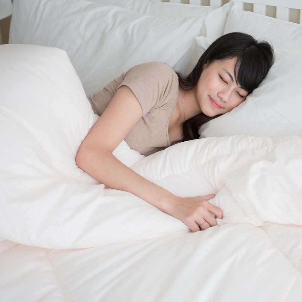 凱蕾絲帝-台灣製造-超保暖~100%純棉澳洲純新天然羊毛被-雙人