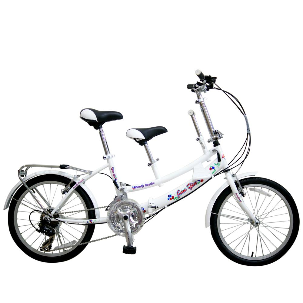 BIKEDNA JY21 20吋21速 SHIMANO 寵物車折疊親子腳踏車