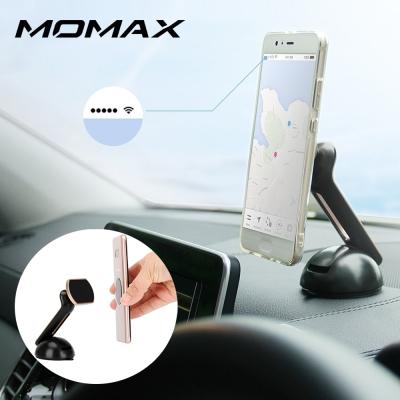 香港MOMAX 磁吸式車載支架-吸盤式(金色/銀色/玫瑰金)