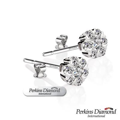 PERKINS 伯金仕 - Queen系列 總重0.36克拉鑽石耳環