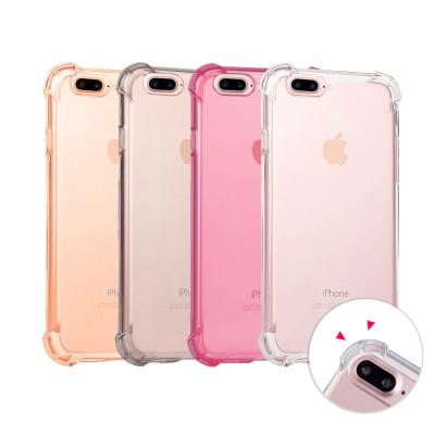 水漾-iPhone7 (5.5)空壓氣墊式防摔手機軟殼(送玻璃保護貼)