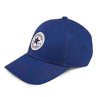 CONVERSE-鴨舌帽10005221A08-藍