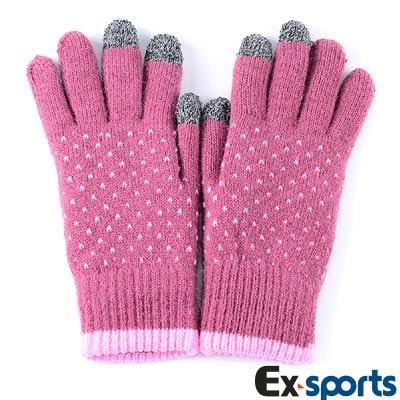 Ex-sports 觸控手套 智慧多功能(女款-601)