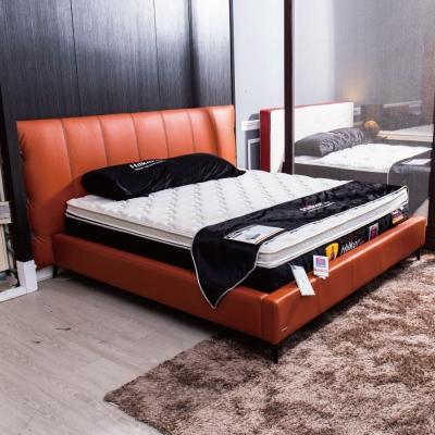 床架 雙人 6 尺 圖爾全牛皮床台 Hilker