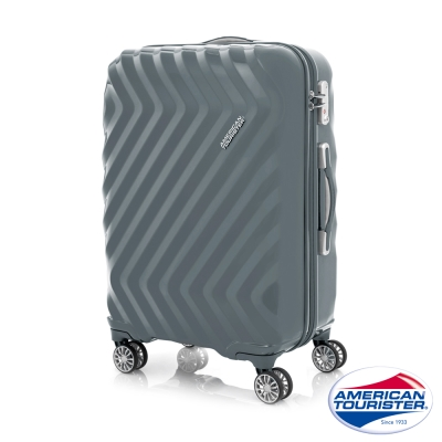 AT美國旅行者 24吋Zavis四輪飛機輪硬殼TSA行李箱(石墨灰)