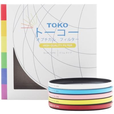 TOKO 超薄抗UV彩色保護濾鏡 67mm