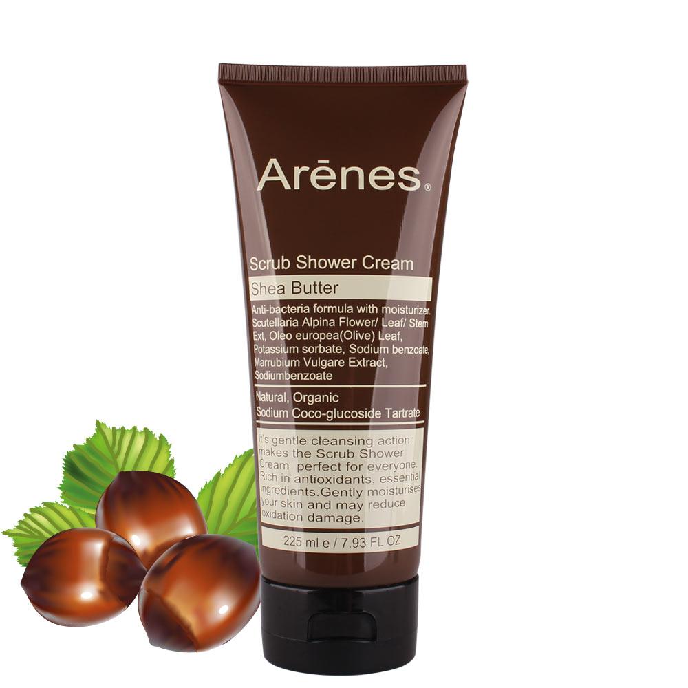 Arenes 乳油木果1/2乳霜去角質潔膚乳225ml