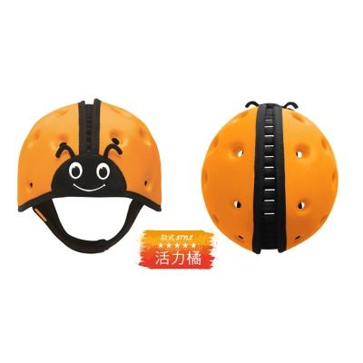 英國SafeheadBABY 幼兒學步防撞安全帽 活力橘