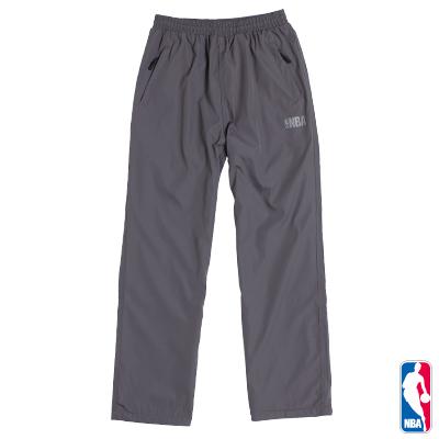 NBA-經典LOGO運動風衣長褲-深灰(男)
