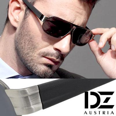 【2件59折】DZ 爵士T調 抗UV 偏光太陽眼鏡墨鏡(槍框灰片)
