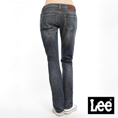 時尚剪裁-Melissa-428-標準直筒牛仔褲-女款-二手藍