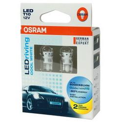 OSRAM 汽車LED燈 T10 W5W(2入)公司貨