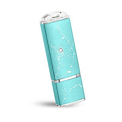 TCELL 冠元-USB3.0 16GB 絢麗粉彩隨身碟-Tiffany藍