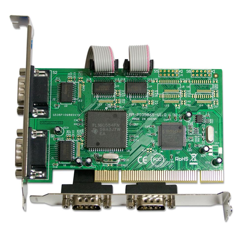 伽利略 PCI RS232 4 port 擴充卡