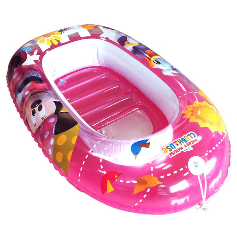 美國品牌【迪士尼DISNEY】米妮黛絲充氣小艇