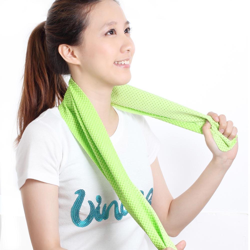 【夏日優惠2件組】Clover 瞬間涼感多用途冰涼巾(運動巾)-共兩色
